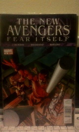 The New Avengers Fear Itself #16