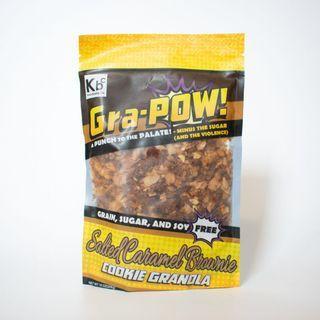 Keto Sweet - Gra-Pow! Cookie Granola - Salted Caramel Brownie (10 oz)