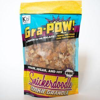 Keto Sweet - Gra-Pow! Cookie Granola - Snickerdoodle (10 oz)