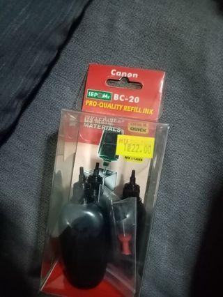 🚚 Canon bc 20 ink refill