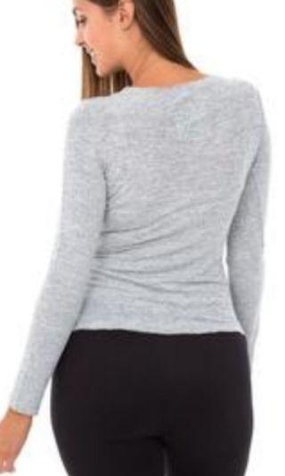 BN Light Grey Sweater