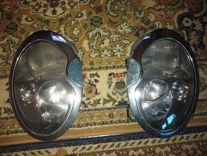 Head lamp mini cooper r50 r52 r53