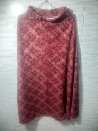 Rok Panjang maroon