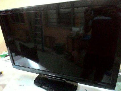 "Tv 37"" Sharp Aquos Lcd Full Hd"