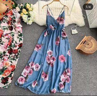 BNWOT Floral Maxi