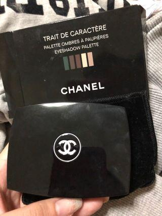 Chanel Eyeshadow trait de caractere Chirstmas special