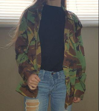 Lightweight camo jacket