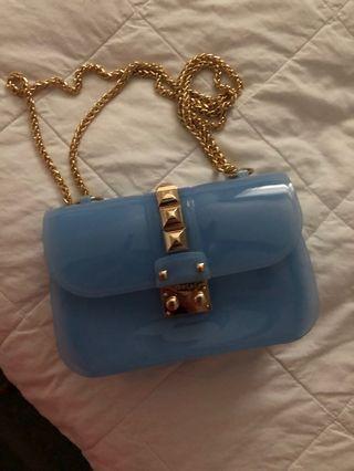 Beautiful blue bag