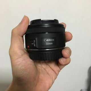 Canon 50mm F1.8 stm in good condition