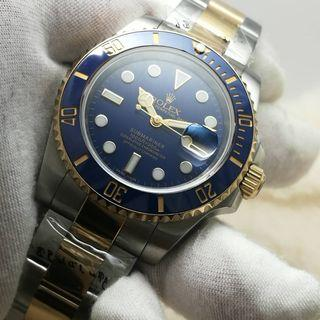 Rolex Submariner 18K Gold Blue