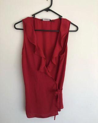 Glassons Wrap Top - Size 8