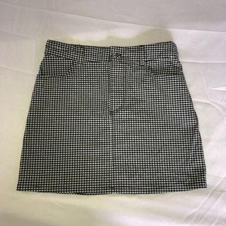 F21 Gingham Skirt