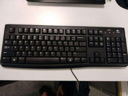 K120 Logitech keyboard