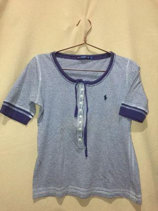 Kaos Polo Stripe