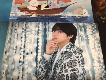 ❣️Official and Brand new Kim TaeHyung V BTS Postcard / Photocard PC