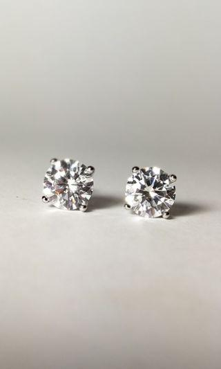 Zircon Earring 7 mm