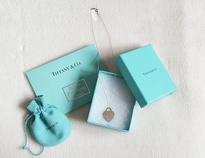Tiffany & Co. Necklace: Heart Tag Pendant