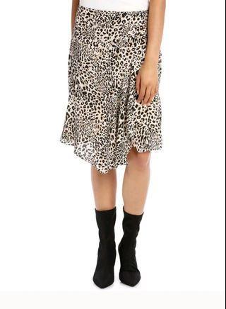 Basque Leopard Animal Skirt - Size 8