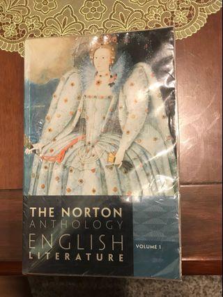 🚚 英史 Norton anthology of English Literature 9.ed vol1