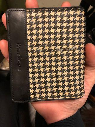 Ralph Lauren千鳥格短夾