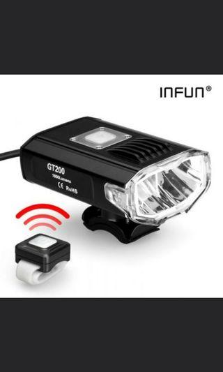 Infun GT 200 wireless headlight escooter scooter am tempo fiido dyu dualtron speedway Passion mini ultra limited ebike electric bicycle Samsung Sony iPhone iPad HM fsm innokim rihno V2 motor