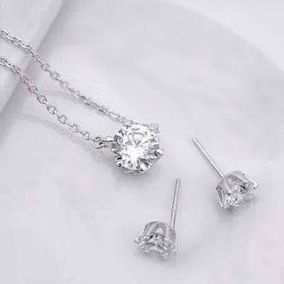 Grace Pearl or Noblesse Jewellery Set (92.5% silver) from Korea