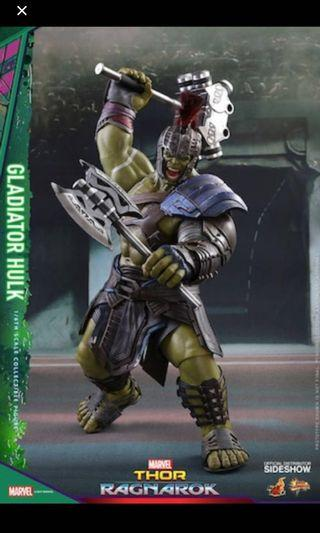 Hot toys Hulk Gladiator