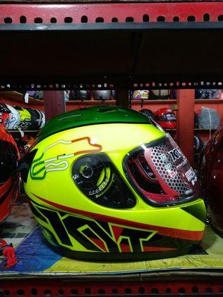Helm KYT Full Face Grenn