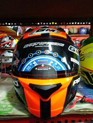 Helm GM Full Face Orange Great