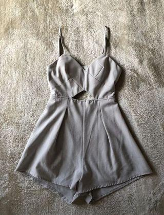 Grey playsuit