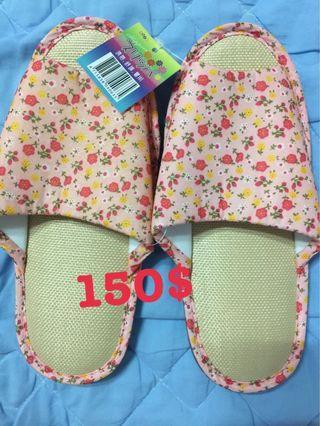 🚚 台灣製造涼蓆拖鞋