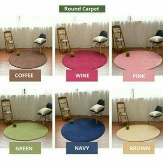 FREE DELIVERY Round Tatami Rug Soft Carpet