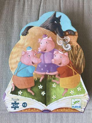 Three Little Pigs Puzzle Better Toy Store
