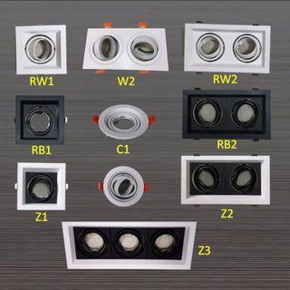LED Downlight recess housing