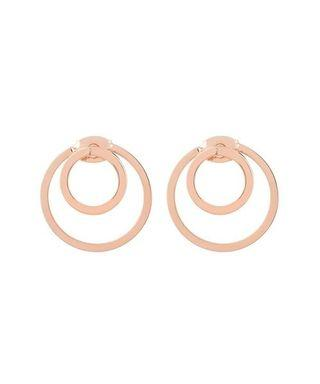 🚚 By invite only double circle earrings