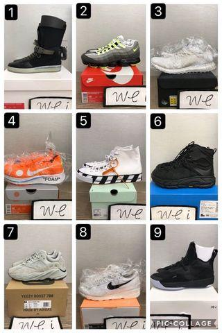 🚚 Nike adidas OFF WHITE X CONVERSE