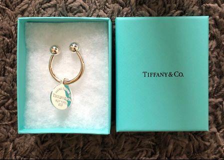 Tiffany & Co. Return to Tiffany Heart Tag Key Ring