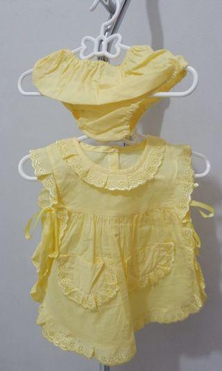 Dress/jumper/baju bayi/jumpsuit