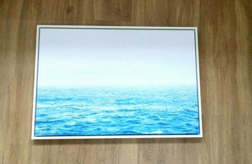 Wall painting/decoration (ocean and sky)