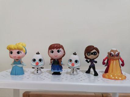 🚚 Mystery minis - Incredibles & Disney