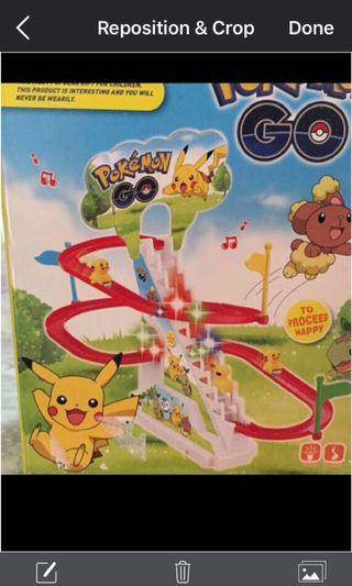 🚚 Pokemon Rollercoaster