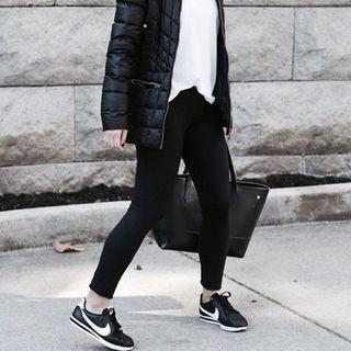 Nike Black Cortez