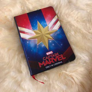 (FREE POS) Limited Edition Captain Marvel Notebook