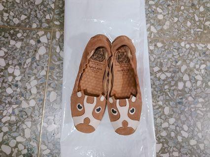 🚚 Made in Taiwan可愛娃娃鞋(23公分) 只穿過3次