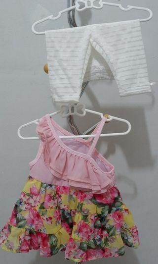 Dress/baju bayi/jumper/jumpsuit