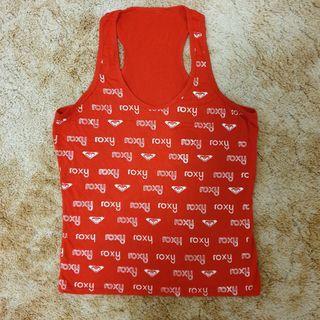 Red Roxy Singlet