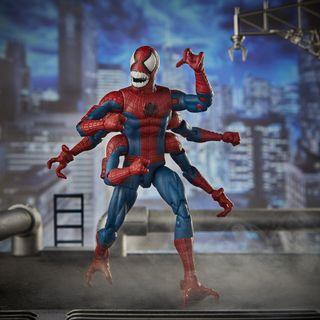VERY RARE & HOT! *Pre-Order* Hasbro Marvel Legends Series Spider-Man: Far from Home Demogoblin Doppelganger Spider-Man Figure with Molten Man BAF part!