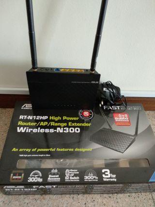 Asus RT-N12HP Router/AP/Range Extender