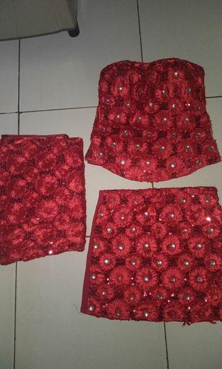 Dress kemben dan rok