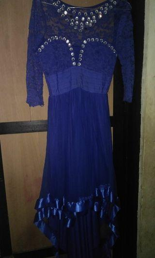 Dress Pesta brukat